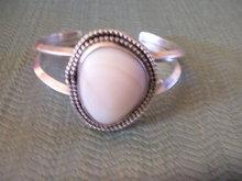 Ivory/Bone Chanel Set Silver Cuff Bracelet
