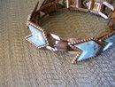Turquoise (8) Link Chanel Set  Bracelet