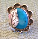 Turquoise  Navajo Lady's Ring