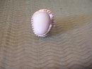 Bone White Ladys Sterling Silver ring