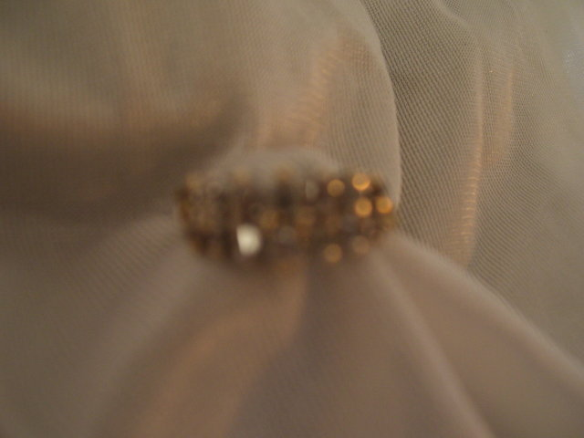 Ladys .33cts. Diamond Ring-3.00grms 14K Yellow Gold