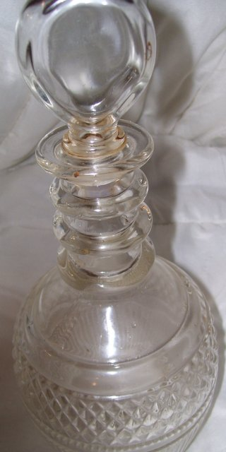 Crystal Seagrams 1716 Bicentenial Decanter designed by Tiffany & Company