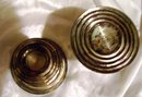 A vintage Pair of Newbury Silver Co. Sterling silver candle holders