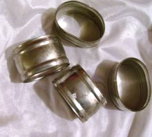 Royal Holland Pewter-KMP- Daalderop Napkin Rings- 4 piece setting