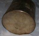 Vintage Cuban Silverplate Sugar  closed lid cannister