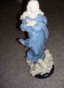 G. Ruggeri '' Madonna with Cherubs''  16 inch