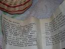 Signed Cherokee Indian ''Shirley Gewin '' woven basket