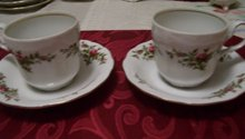 Johann Haviland 4 pieces Traditions fine China Antoinette Pattern