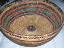 Native American  large Utilitarian hand woven basket