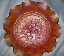 Vintage Dugan, ''Windflower''   (10) Rullfe  Bowl