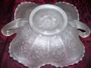 Vintage, Fenton Rare White Persion Medallion Bon bon/Card tray