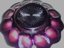 Vintage,  Imperial ,'' Heavy Grape''/ Lattice 7.875 inch Amethyst Plate