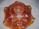 Imperial, '' Hobstar'' 6 inch Marigold Bowl