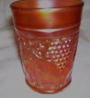 A Vintage Nortwood '' Grape and Cabel'' Marigold tumbler