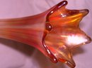 Vintage Northwood 9.00 inch Carnival glass Bud Vase