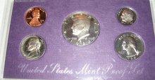 A 1988 United states Mint Proof Set