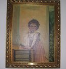 A 1937 Child Portrait  Oil Painting, By Claire E.Wade,NAWA-AWCS- NY 1899-) After William A. Bouguereau, Italy 1825-1905, O/C , C.E. Wade 1937