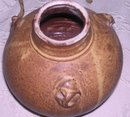 A Clay Beige Pottery Vessel,