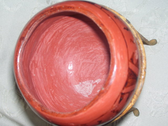 A signed Redware Pottery Bowl