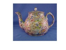 English Chintz Teapot
