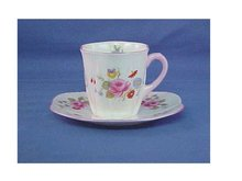 Shelley Demitasse Cup & Saucer