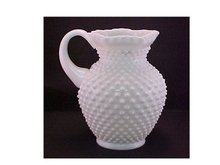 Milk Glass Pitcher, Fenton -