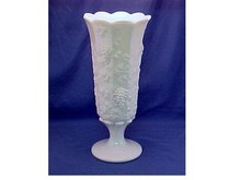 Large Footed Vase, Westmoreland -