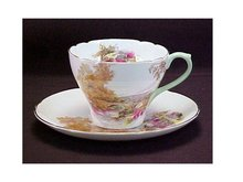 Cup & Saucer, Shelley China -
