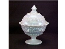 Covered Candy Dish, Westmoreland -