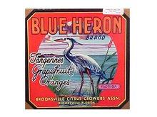 Original Florida Citrus Crate Label