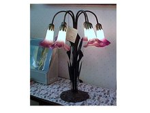 Dale Tiffany Six Lily Table Lamp