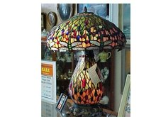 Stained Glass Table Lamp - Dale Tiffany