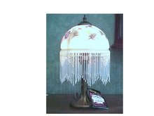 Reverse Painted  Lamp - Dale Tiffany