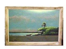 Florida Highway Painting - Lemuel Newton