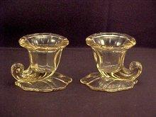 Pair Vases, Heisey -