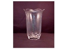 Crimped and Flared Vase -
