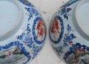 C. 1820-1840 CHINESE EXPORT ROSE MANDARIN PR. VASES