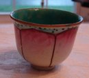 19TH CENTURY CHINESE LOTUS TEA BOWL, RARE