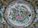 C. 1850 CHINESE EXPORT 1000 BLACK BUTTERFLY PLATE 8