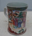 C. 1770 CHINESE EXPORT FABULOUS MUG