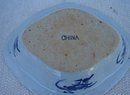 C. 1890 CHINESE EXPORT BLUE CANTON VEGETABLE DISH