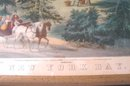 C. 1860 CURRIER & IVES LITHOGRAPH, NEW YORK BAY
