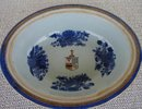 C. 1800 CHINESE EXPORT ARMORIAL VEGETABLE DISH W/COVER