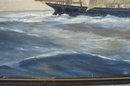 20TH. CENTURY NORTH SHORE SHIP PAINTING