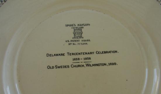 SPODE MANSARD COPELAND SET OF 12 DELAWARE PLATES