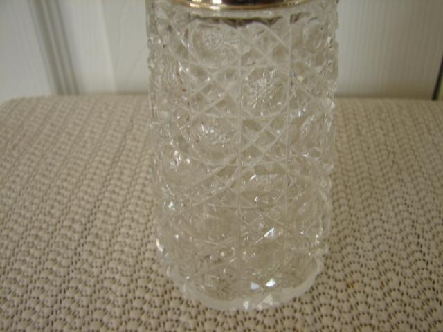 C. 1920 SUGAR SHAKER W STERLING TOP