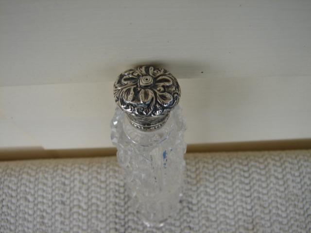 C. 1920 CRYSTAL GLASS DOUBLE PERFUMER-RARE
