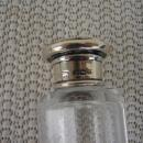 C. 1920 CRYSTAL GLASS MEDICINE BOTTLE 5