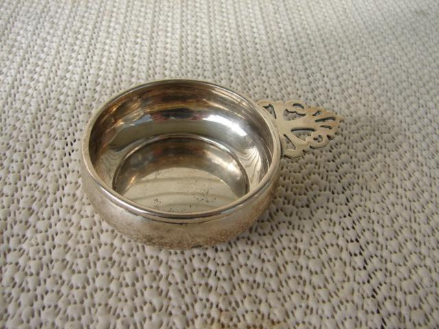 C. 1920 STERLING SILVER PORRINGER 3