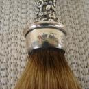 C. 1920 S.KIRK STERLING HANDLE W/SHAVING BRUSH